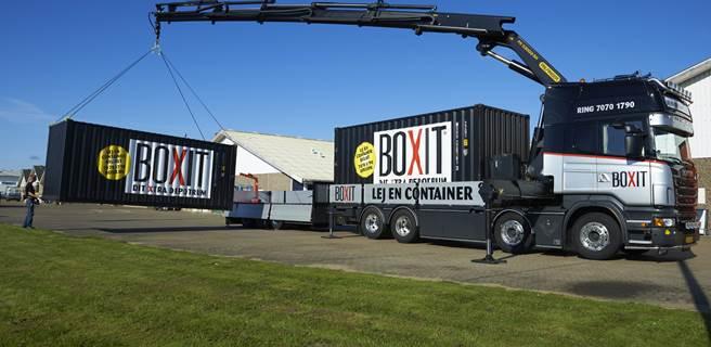 Containerleje til erhverv og privat. Levering i hele landet.