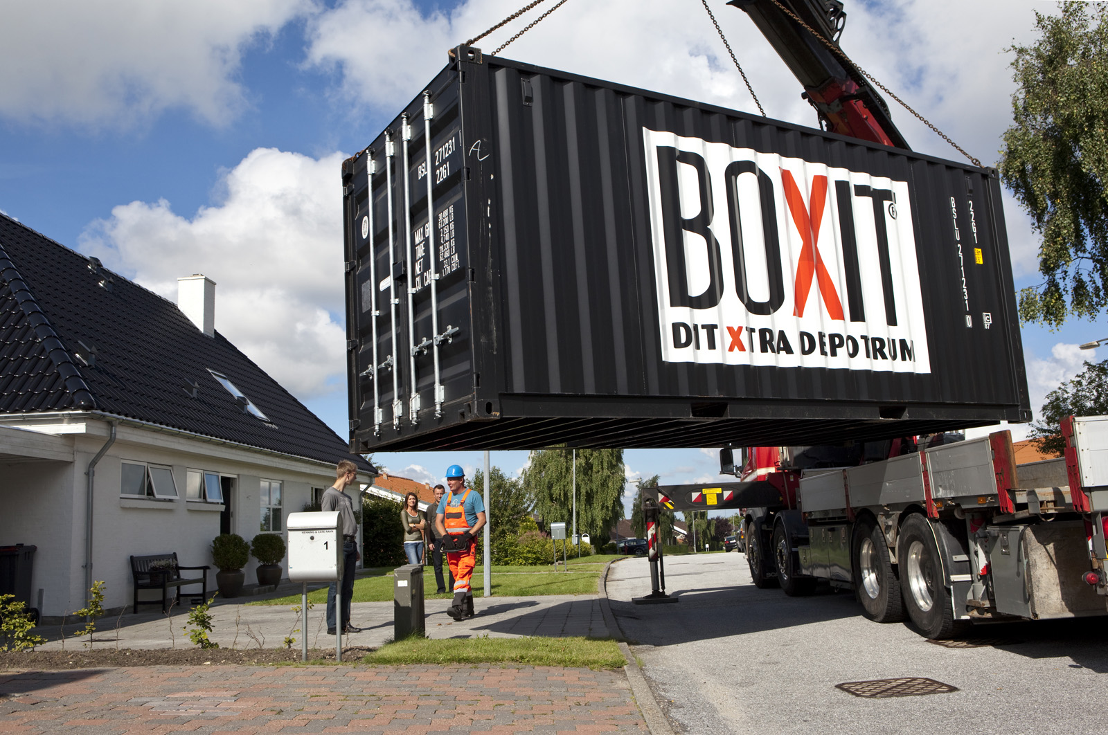 Picture of: Lej En Container Hos Boxit Flere Storrelser Laengder Se Priser Her