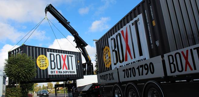 boxit container levering