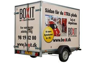 Fabriksnye Trailerudlejning hos BOXIT - Lej en trailer for kun 5 kr TZ-68